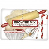 Holiday Dessert Baking Brownie Mix