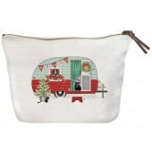 Holiday Camper Canvas Pouch