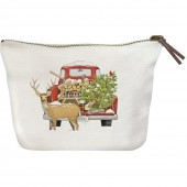 Firewood Truck Canvas Pouch