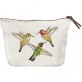Hummingbird Canvas Pouch