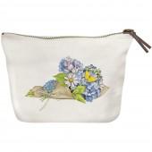 Hydrangea Bouquet Canvas Pouch