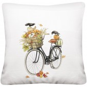 Pumpkin Bike Pillow