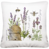 Botanical Lavender Pillow