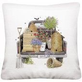 Black Truck Beehive Pillow