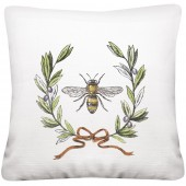 Bee Wreath Pillow