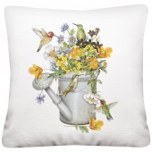 Hummingbird Water Can Pillow