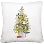 Sailboat Tree Pillow