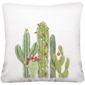 Cactus with Lights Pillow