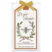 Bee Olive Wreath Dryer Sachet