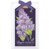 Lilac Lavender Dryer Sachet