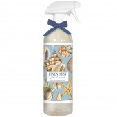Seashell Collage Linen Mist