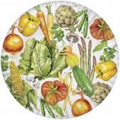 Veggies Melamine Platter