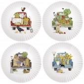 Everyday Trucks Melamine Plates