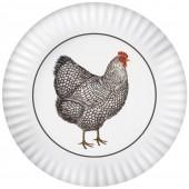 Farmhouse Chicken Melamine Platter