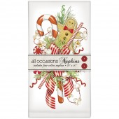 Gingerbread Swag Casual Napkins