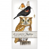 Stacked Autumn Birds Casual Napkins