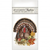 Turkey With Leaves Casual Napkins