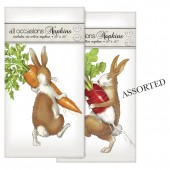 Rabbit With Carrot Casual Napkins