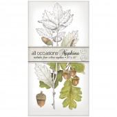 Botanical Oak Leaves Casual Napkins