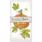 Botanical Pumpkin Casual Napkins