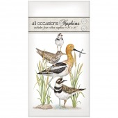 Stacked Shorebirds Casual Napkins