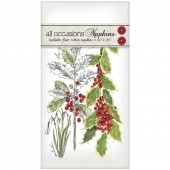Botanical Holly Casual Napkins