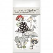 Botanical Mushroom Casual Napkins
