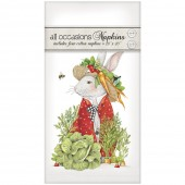 Rabbit Veggie Hat Casual Napkins