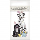 Easter Dalmation/ Cat Casual Napkins