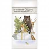Forest Animal Boat Casual Napkins