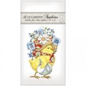 Chick Flower Bonnet Casual Napkins