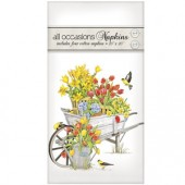 Tulip Wheelbarrow Casual Napkins