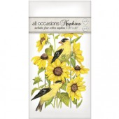 Sunflower Finch Casual Napkins