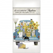 Flower Truck Casual Napkins