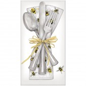 Scattered Bee Cutlery Casual Napkins