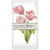Pink Tulip Bunch Casual Napkins