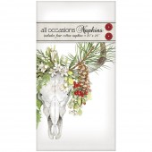 Holiday Cow Skull Casual Napkins