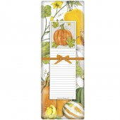 Botanical Pumpkin Notepad & Towel Set