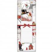 Snowman Retro Notepad & Towel Set