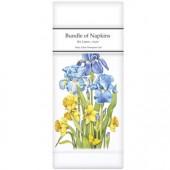 Daffodil Iris Linen Napkins