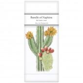 Cacti Blooms Linen Napkins