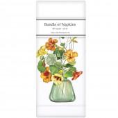 Green Vase Linen Napkins