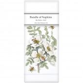 Bee Bush Linen Napkins