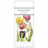 Tulip Garden Linen Napkins