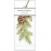 Pine Branch Linen Napkins