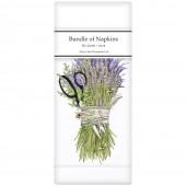 Lavender Shears Bundle Linen Napkins