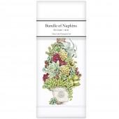 Succulent Tree Linen Napkins