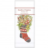 Gingerbread Stocking Linen Napkins