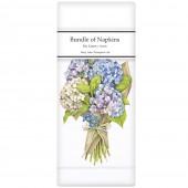 Hydrangea Bouquet Linen Napkins