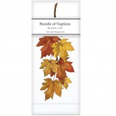 Maple Leaves Linen Napkins